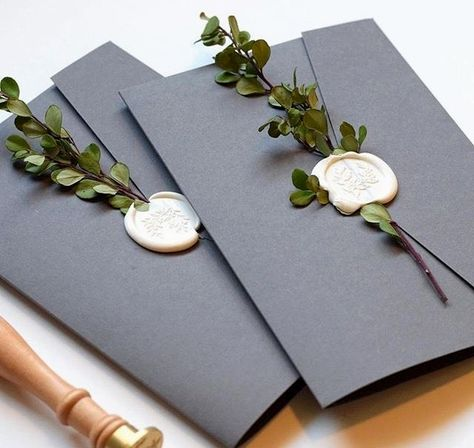 We enjoy these wax seal invites! Did you know we as well work with a wax seal on our high quality gi