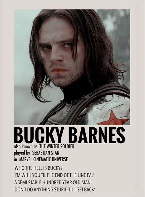 Bucky Barnes by Millie