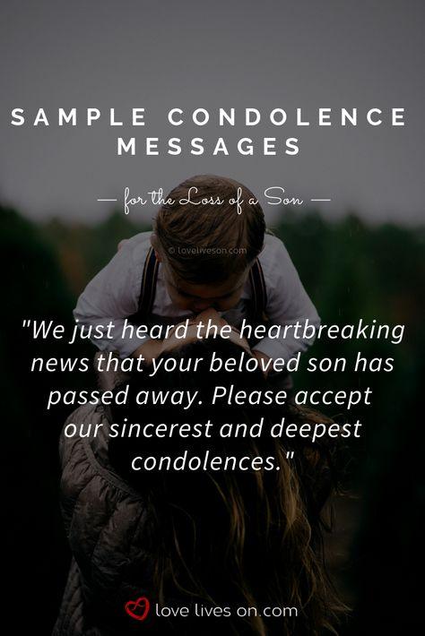 Condolences Love, loss and moving on Pinterest Condolences