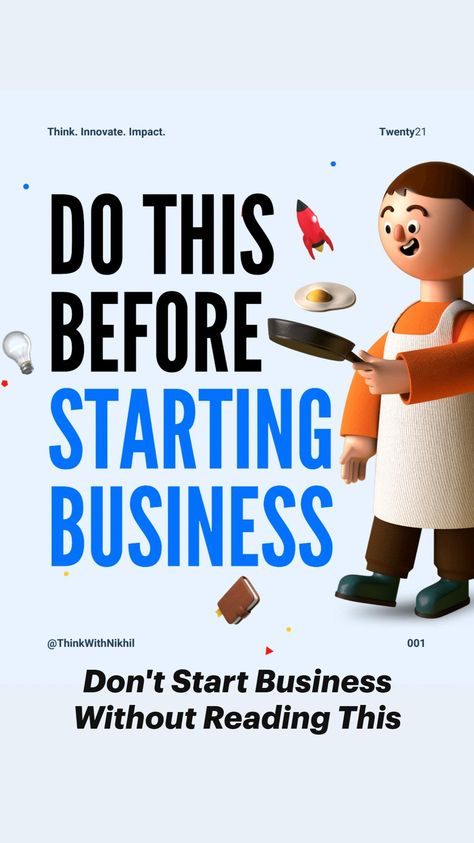 Don't Start Your Business Before Reading This!