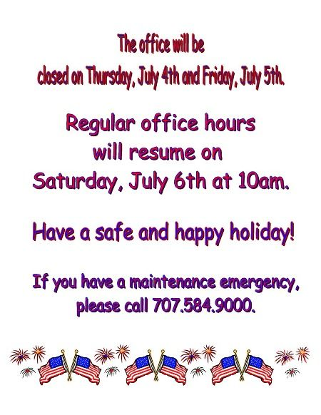 office will be closed sign template