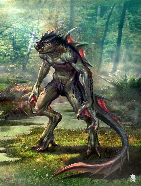 Fantasy humanoid creatures