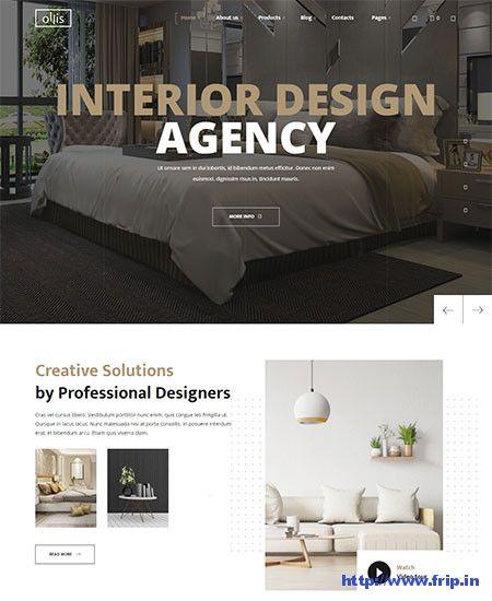 25 Best Interior Design Wordpress Themes 2020 Small Business Web