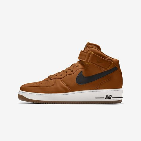 Nike Air Force 1 Mid By You Custom Men's Shoe Size 10.5