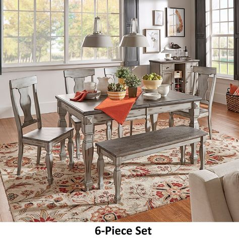 Miraculous Eleanor Grey Two Tone Wood Butterfly Leaf Extending Dining Squirreltailoven Fun Painted Chair Ideas Images Squirreltailovenorg