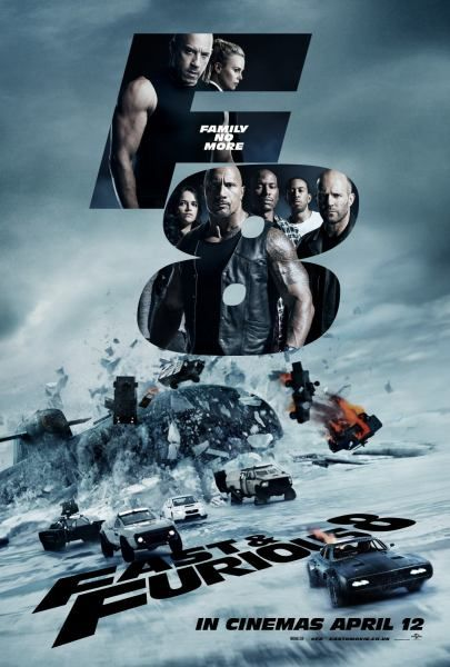 Poster And Tv Spot Of Fast And Furious 8 Aka The Fate Of The Furious Fast And Furious Fast And Furious 8 Fate Of The Furious