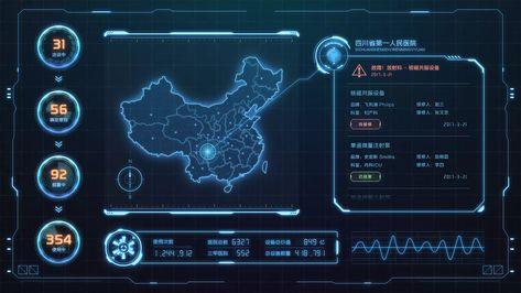 大数据大屏可视化设计|UI|软件界面|TruthZRO         - 原创作品