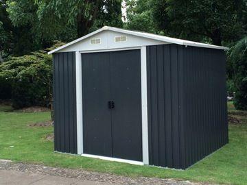 Domek Ogrodowy Garaz Schowek Narzedziowy 300 X 300 Outdoor Shed Outdoor Structures