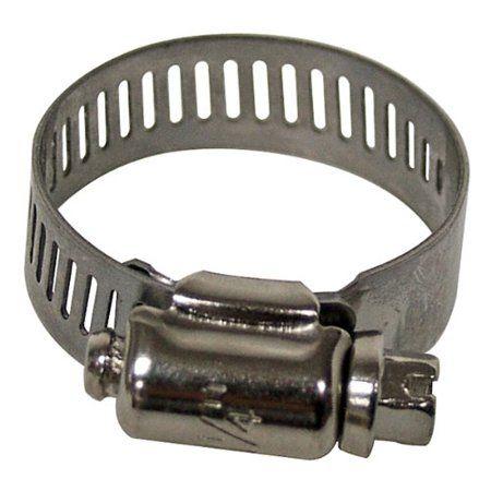 Plumb Craft Waxman 0167400 1 1 4 Inch Stainless Steel Hose Clamp Multicolor Stainless Steel Hose Stainless Steel Steel