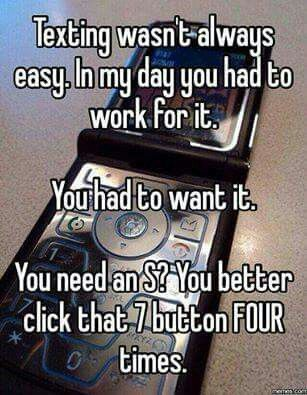 Kids these dys will nvr know the struggle. Lmao