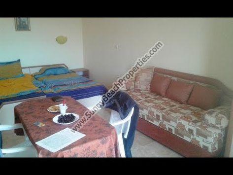21000 42m2 Geraumige Moblierte Studio Wohnung Zum Verkauf In Lazur 3 Im Zentralen Teil Von Sonnenstrand Bulgarie Apartments For Sale Studio Apartment Studio