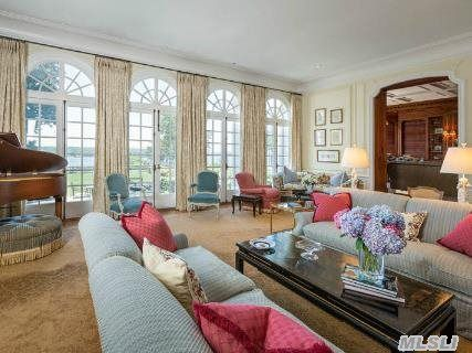Burrwood Formal Living Room With Floor To Ceiling Windows Overlooking The  Long Island Part 60