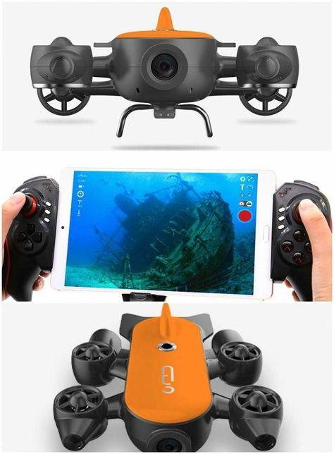 GENEINNO Titan Underwater Drone with VR Goggles Support