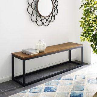 Harper Blvd Bailey Narrow Coffee Table Bench Narrow Coffee Table Coffee Table Bench Coffee Table