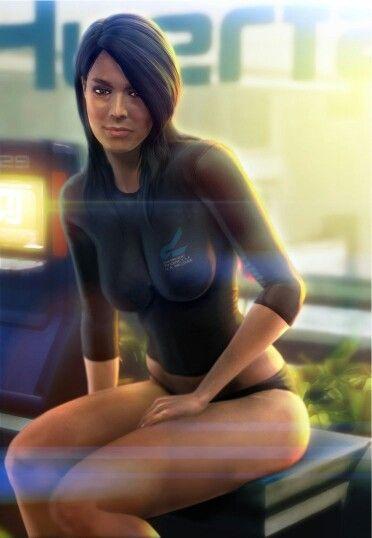 Mass Effect- Ashley sex scene - YouTube