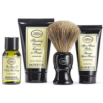 The Art Of Shaving The 4 Elements Of The Perfect Shave Unscented Mid Size Kit In Ultabeauty The Art Of Shaving Shaving Shaving Oil