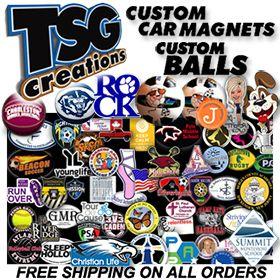 Custom Car Magnets CarMagnets Custom Balls Customballs Soccer - Custom car magnets decals