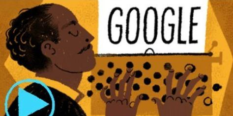 Google on Sunday celebrated what would have been the 113th birthday of famed African-American poet and social activist Langston Hughes through a powerful tribute on its home page.