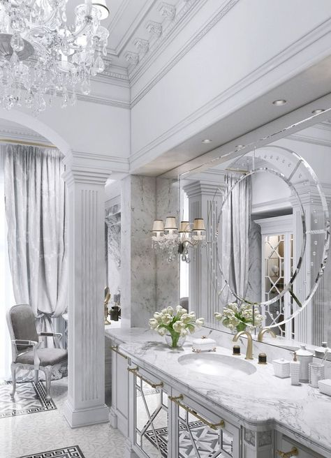 19 Elegant Bright Bathrooms – The Marble Home