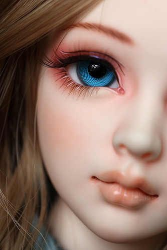 Free Face Make UP+Free Eyes 1//4 BJD Doll SD Doll Girl Unoa lusis