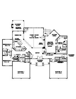 Landmark Design Home Stock Plan 1116 Stock Plans How To Plan House Design