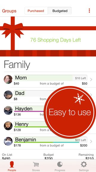 9 Favorite Organizing Apps To Keep Your Life On Track In 2020 Christmas Gift App Christmas List App Holiday Organization