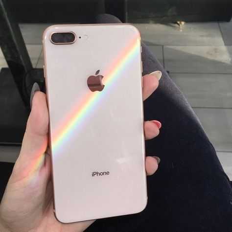 iPhone and a real rainbow -