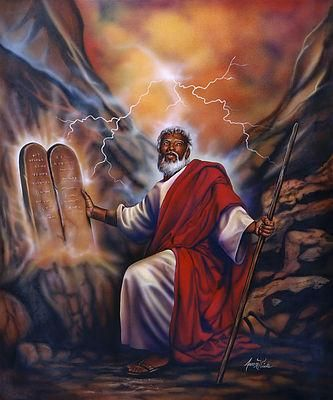 What race was moses in the bible