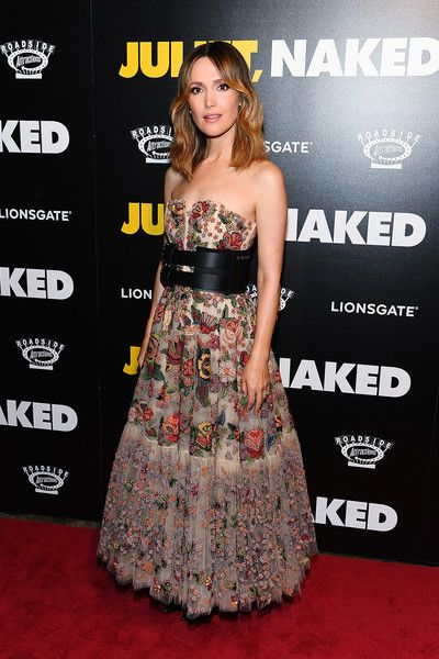 Rose Byrne attends the 'Juliet, Naked' New York Premiere at Metrograph.
