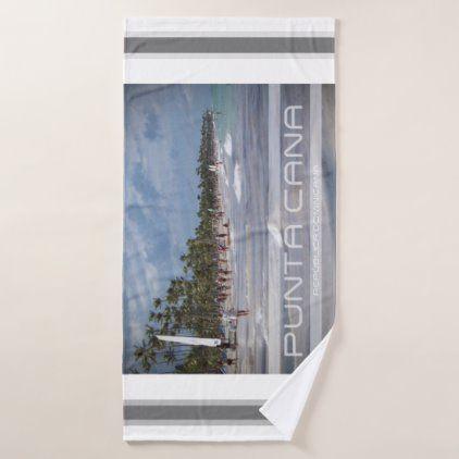 Punta Cana Christmas 2020 Punta Cana   Dominican Republic Bath Towel | Zazzle.in 2020