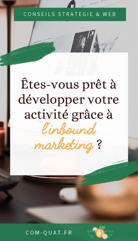 Développez votre activité grâce à l'Inbound Marketing