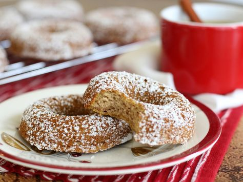 Almond Flour Apple Cider Donuts!