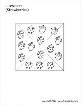 18 Pinwheel Coloring Page Templates Printable Free Coloring Pages Pattern Coloring Pages