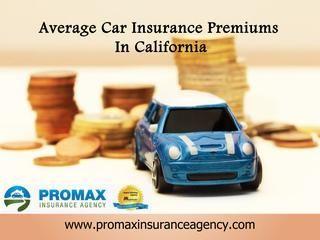 Average Car Insurance Premiums In California Car Insurance Best
