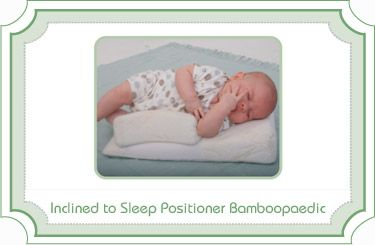 the latest a15b7 dc16b Inclined-to-Sleep-Positioner-Bamboopaedic- The soft Bamboo ...