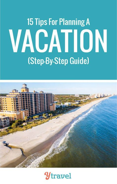 Planning your trip can be overwhelming. Here are 15 steps to plan a trip and take the stress out of booking your next vacation. Tips include how to get deals on flights, accommodation, tours, rental cars and activities. Plus things like visas and passports. Don't plan a family vacation before reading these travel tips! #travel #vacation #traveling #familytravel #familyvacation #traveller #holiday #travelplanning