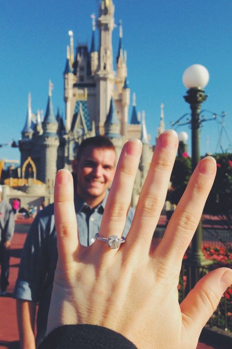 Proposal at Disney. One of the best versions of this picture idea.