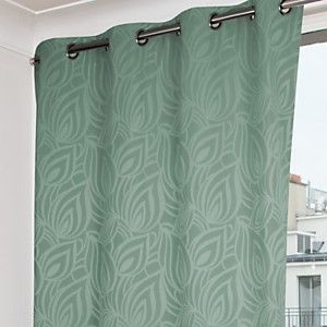 rideau vert rideaux double rideaux