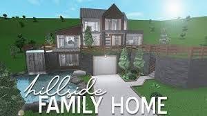 Bloxburg Hillside House Google Search Hillside House House Blueprints House One of my biggest dream is live on new york! bloxburg hillside house google search