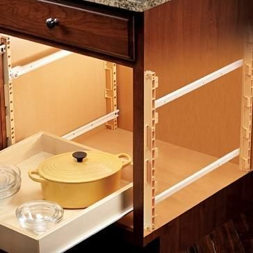 1 1 4 Quiktray Rollout Shelf Systems Ikea Kitchen Remodel Kitchen Remodel Cost Kitchen Remodel
