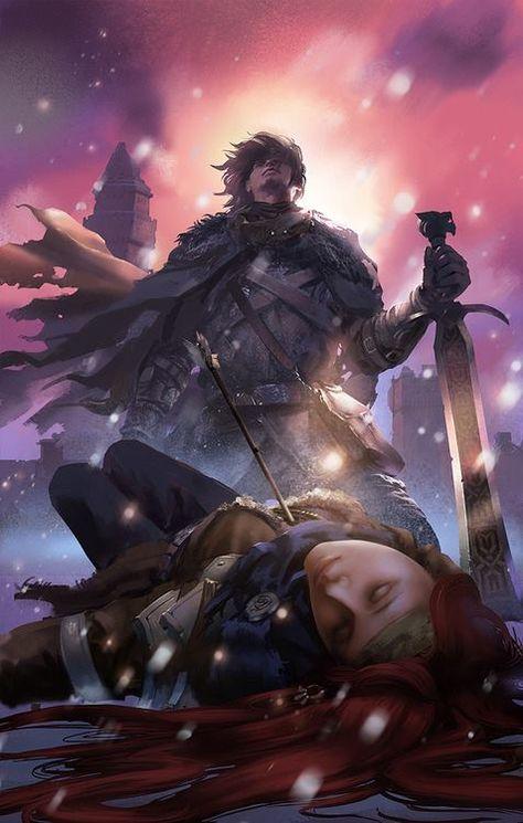 As Cronicas Do Gelo E Fogo Fogo E Gelo Ygritte And Jon Snow