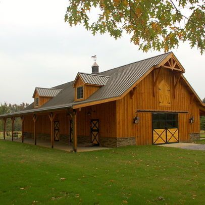 Horse Barn  Horses Haus-Man\u0027s House (The Barn) Pinterest The