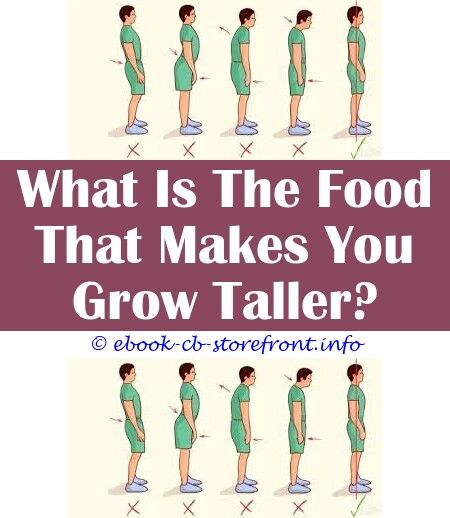 In become ways to height shorter Can you