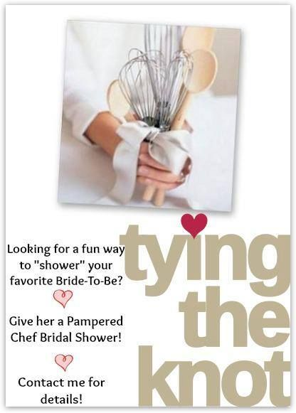 PAMPERED BRIDE REGISTRY/ SHOWER www.pamperedchef.biz/carlaslivano