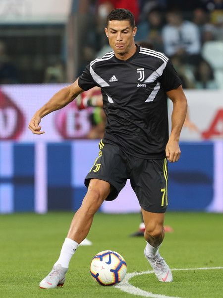 c1c4f3f3d7799 Cristiano Ronaldo of Juventus FC during the warm up prior to the serie A  match between