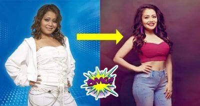 Neha Kakkar Shocking Transformations Before And After Neha Kakkar Transformations Bollywood