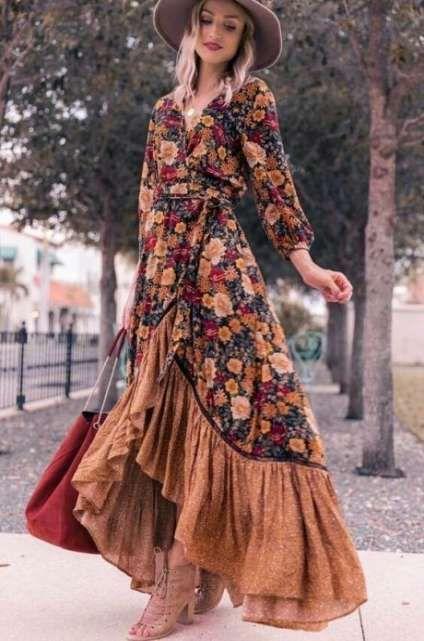 Dress Boho Winter Kimonos 53 Ideas Boho Outfits Buy Vintage Dress Boho Chic Fashion