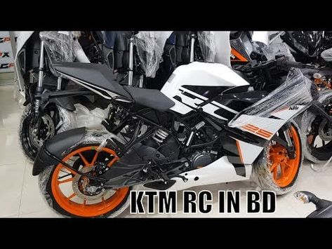 Ktm Rc 125 Abs Colors 1 White With Black 2 Orange With Black Ktm