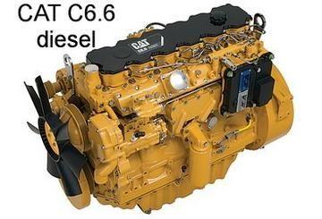 Caterpillar C6 6 Diesel Engine Parts Manual (S/N 666