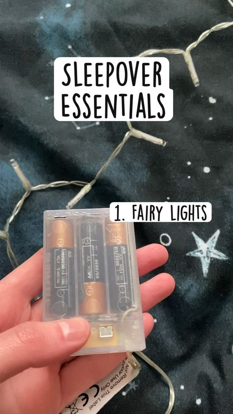 Sleepover Essentials